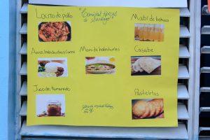 Comidas típicas de Santiago