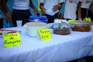 Alimentos en el Encuentro Cultural